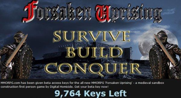 [Steam] Forsaken Uprising Beta Key Giveaway (Rust Clon)