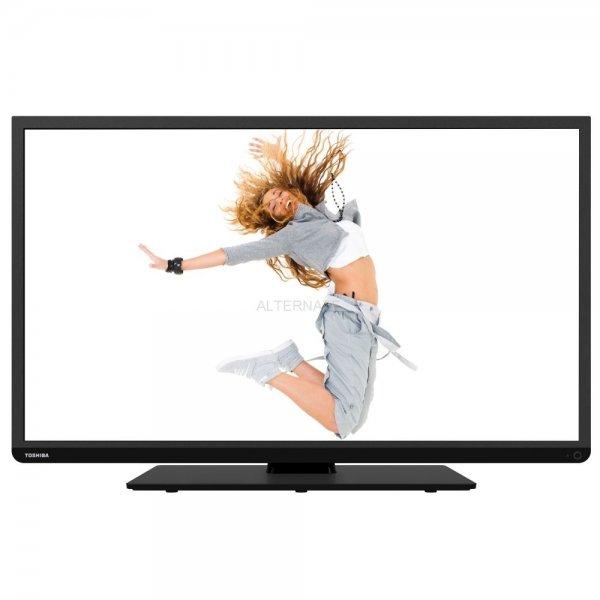 Toshiba 40L3441DG, LED-TV (schwarz, 2x HDMI, DVB-T/C/S2, USB, WLAN) für 333€ bei Ebay (Alternate) versandkostenfrei
