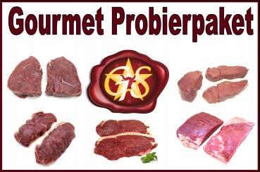 Gourmetstar.de Probierpaket 2kg Fleisch 24,90€