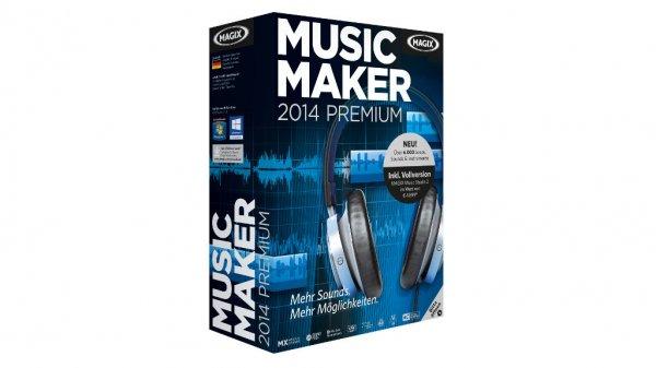 50% Rabatt auf Music Maker 2014 Premium