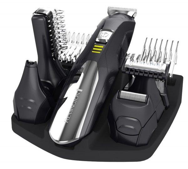 Remington Körperhaartrimmer, Ohr-, Nasenhaartrimmer P6060 in schwarz/silber für 35€ frei Haus @Voelkner