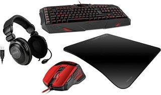 Speedlink Bundle(Headset 5.1, Gaming Maus und Gaming Tastatur)