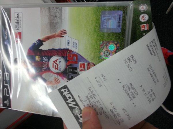 [MM Heilbronn] FIFA 15 PS4 für 55 Euro, Bundle 399 Euro (PC 55 Euro, restliche Konsolen 59 Euro)