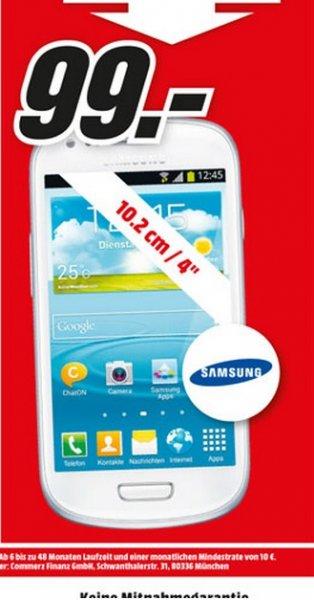Samsung Galaxy S3 Mini i8190 für 99€ Lokal @ Mediamarkt Stuhr