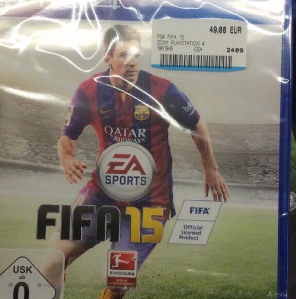 FIFA 15 für PS4 in Mediamarkt Singen für 49,- €