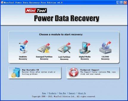Power Data Recovery - gelöschte Daten wiederherstellen - Vollversion
