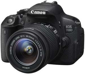 Canon EOS 700D mit 18-55 mm IS STM Objektiv
