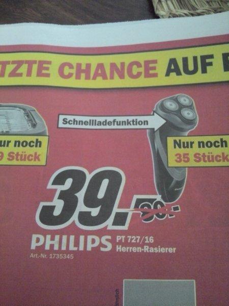 {Mediamarkt Neuss}Philips PT 727/16 Herren-Rasierer für 39,- € MM Neuss LOKAL!!!
