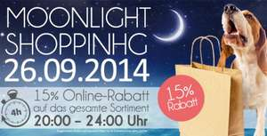 15% Rabatt - Moonlightshopping