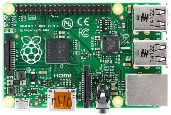 Raspberry Pi Model B+ 29,90 € mit Newsletteranmeldung auf pollin.de