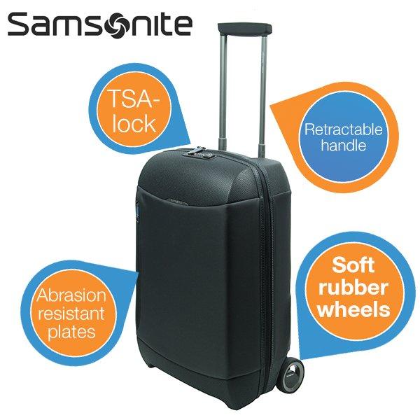 Wieder da: Samsonite Litepshere Upright 55 für 99,95 + 5,95€ bei iBOOD.de