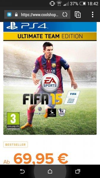 FIFA 15 Ultimate Edition