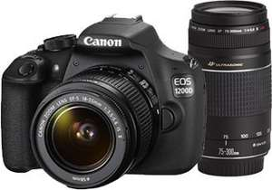 Lokal: Canon EOS 1200D Kit 18-55 mm + 75-300 mm in Saturn Bochum, Witten und Hattingen