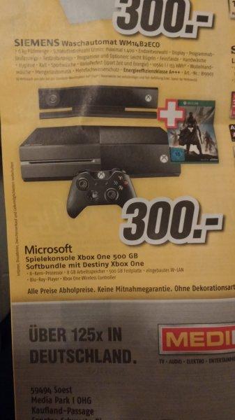 [Lokal Medimax Soest] Xbox One 500gb + Destiny für 300€