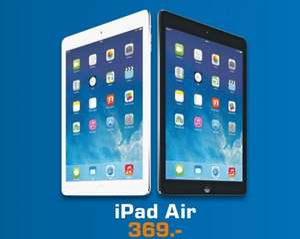 iPad Air 16GB WiFi für 369€ [Lokal] Saturn Frankfurt Zeil,Offenbach & Neu-Isenburg