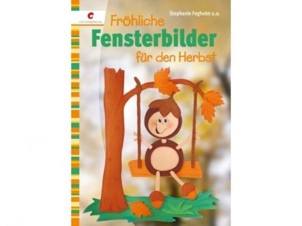 Fröhliche Fensterbilder für den Herbst Broschüre
