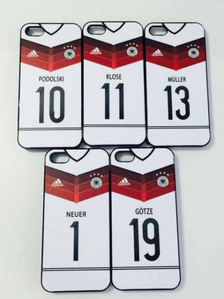 4 Sterne WM 2014 Deutschland  Hülle für iPhone 5 5S