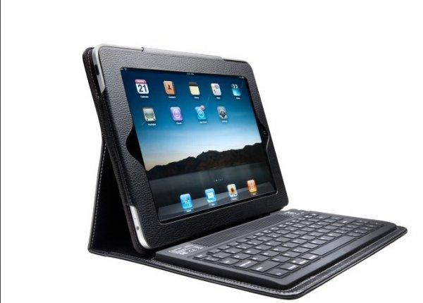 Kensington KeyFolio, Schwarz Bluetooth Tastatur iPad 1/2/3/4 nur 14,99 Euro + VSK