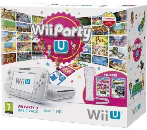 Wii U - Console 8 GB Wii Party U Basic Pack für 183,83€ (Vergleichspreis: 214,90 Idealo) @Amazon.it wieder verfügbar