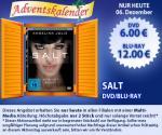 DVD: Salt für 6 Euro - Blu-Ray: 12 € --- Nur Heute