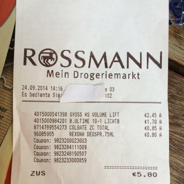 Rossmann Blonde ULTÎME Haarfaarbe