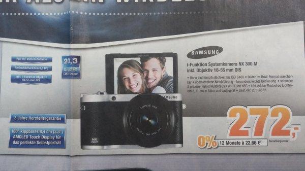 [Lokal] Samsung NX300M inkl. 18-55mm OIS für 272€ @ Expert Bening Lüneburg