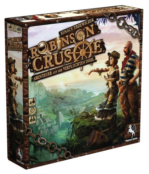 [BRETTSPIEL] Robinson Crusoes Vermächtnis - Abenteuer auf der verfluchten Insel bei Thalia für 23,99€