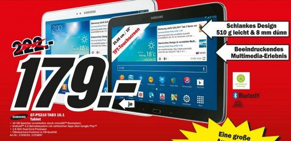 [Lokal] In den 18 Mediamärkten in Berlin Brandenburg Samsung Galaxy Tab 3 10.1 für nur 179€