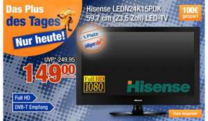 "23,5"" LED-TV Hisense LEDN24K15PUK @Plus"