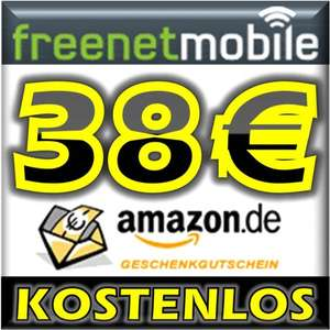 freenetMobile DUO SIM-Karte + 38€ Amazon Gutschein / klarmobil SIM Karte + 20€ Amazon Gutschein