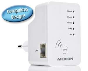 [Aldi Süd ab 01.10.14] Medion P85029 (WLAN Repeater, Access Point, Client) für 19,99€
