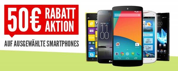 50€ Rabatt auf ausgewählte Hifi-Geräte, Smartphones und Haushaltswaren; 30€ Rabatt auf ausgewählte Notebooks bei Nullprozentshop