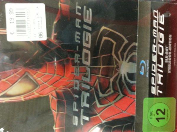 Spiderman 1-3 Steelbox