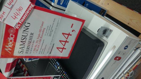 Lokal Media Markt Sindelfingen evt. auch in anderen Filialen: Samsung Fernseher UE48H6270 SXX für 444€