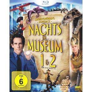 Nachts im Museum 1+2 [Blu-Ray] für 13,99€ @amazon.de