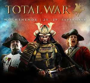 [STEAM] Total War Weekend 75% Rabatt