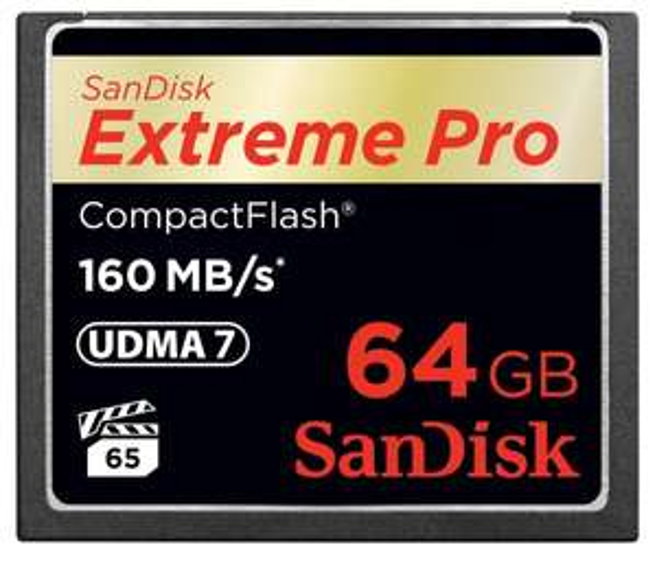 @amazon.de SanDisk Extreme Pro CompactFlash 64GB Speicherkarte (160MB/s)