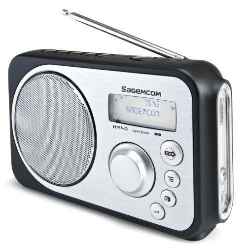 SAGEMCOM HM 40 DAB/DAB+ Radiorekorder tragbar bei Ebay/Amazon für 26,95€ anstatt 112,80€