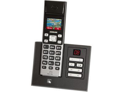 DECT-Telefon mit AB: Audioline Polo 880 für 25 € @ ProMarkt