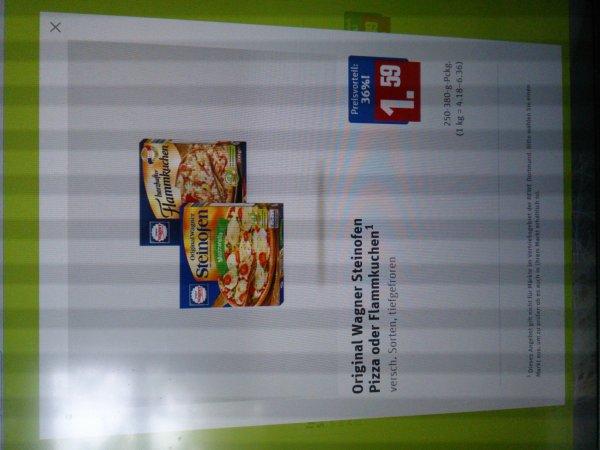 Wagner Steinofen Pizza bei Rewe für 1,59