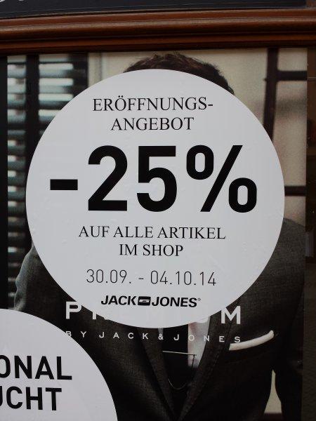 [LOKAL Amberg] Neueröffnung Jack&Jones und Vero Moda: -25% auf Alles im Shop (30.09.-4.10.)