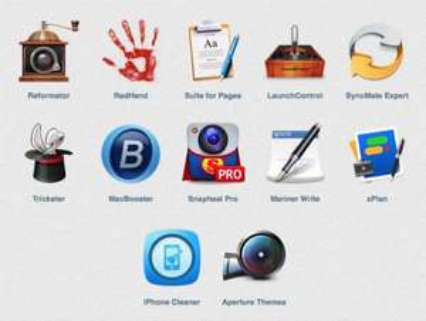 (MAC) Das Fall Mac Bundle von mac-creatable.to mit 12 Apps zum selbst bestimmten Preis
