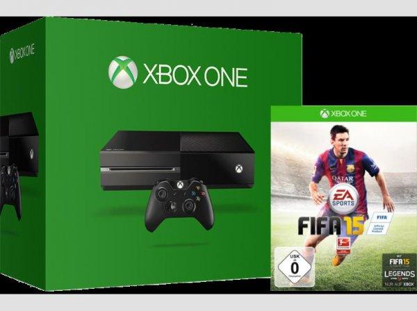 [qipu] BUNDESWEIT: Xbox one , 2.controller, fifa 15, forza 5, 3monate gold Mitgliedschaft @mediamarkt