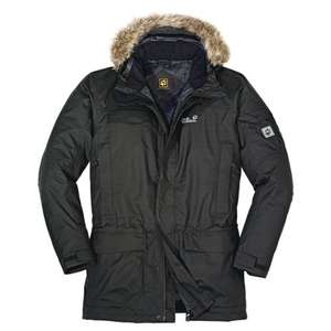 Jack Wolfskin Herren Parka Fairbanks, Shadow Black, XXL für 139,98€ @ Amazon.de