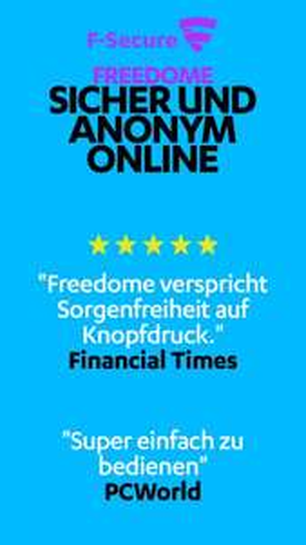 Freedome VPN - mobiler VPN für Android und iOS bis zu 97 Tage gratis - unlimitierter Traffic
