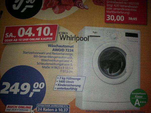 Real off- und online Whirpool Waschmaschine