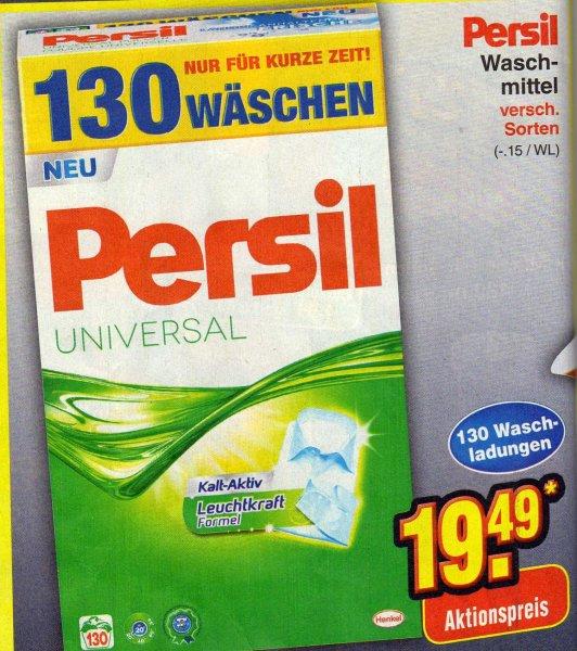 PERSIL Waschpulver 130 Wäschen für 19,49€ (nur am Samstag, 04.10.2014)
