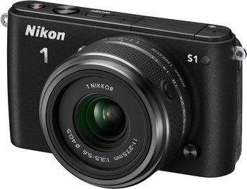 Nikon 1 S1 in schwarz für 188€ @redcoon