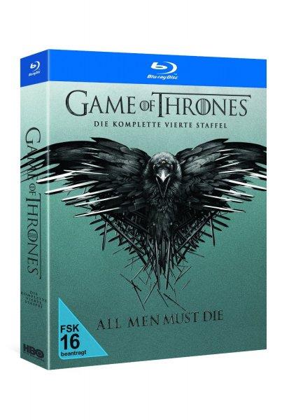Game of Thrones - Staffel 4 (Blu Ray) für 33,99€ vorbestellbar @Saturn