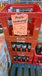 [Lokal] Coca Cola Light für 5,70 pro Kasten bei Netto in Darmstadt